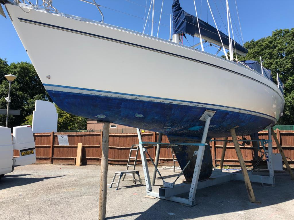 hull cleaning and antifoul