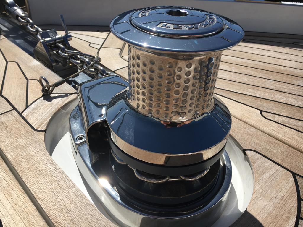 marine metal polishing