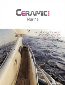 Ceramic Pro Marine Brochure
