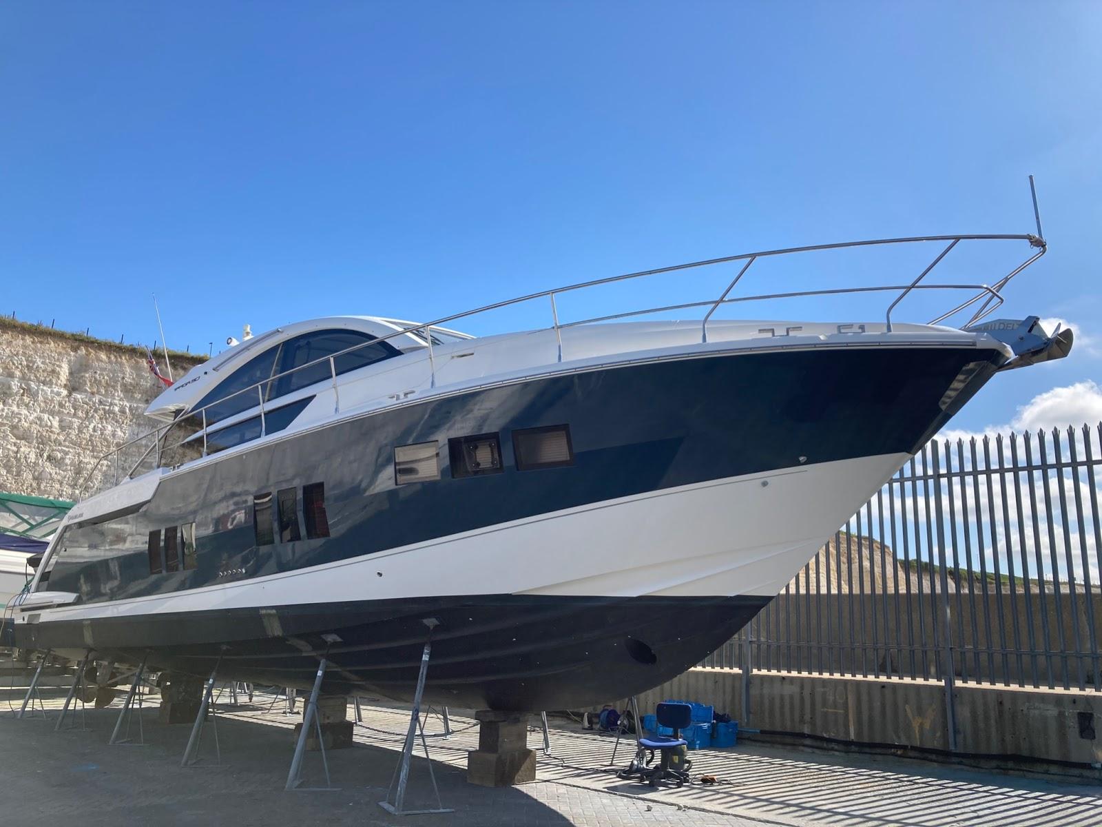 pro marine ceramic coating boat hull pre treatment